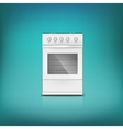 Gas cooker vector