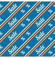 Sale seamless texture with percent discount vector