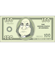 100 cartoon american dollar vector