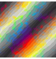 Abstract grunge pattern on rainbow background vector