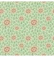 Retro floral seamless vector