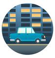 Car detailed transport vector