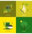 Olives mini poster set vector
