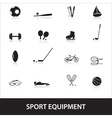 Sport equipment eps10 vector