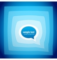 Speech bubble background vector
