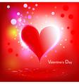 Heart shiny holiday vector