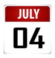 Simple calendar date january 30th vector