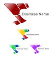 Company identity logo vector