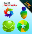 Colorful community vector