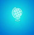 Globe icon vector