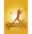 Baseball poster3 vector