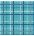 Stylized wall with blue tiles pattern vector