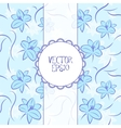Blue vintage background vector