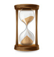 Sand hourglass vector