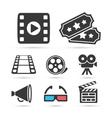 Cinema trendy icon for design elements vector