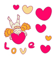 Cupid for valentines day vector