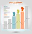 Strategy bar chart vector
