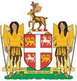 Newfoundland province vector