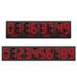 Digital countdown timer 03 vector