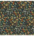 Seamless splattered abstract fireworks pattern vector