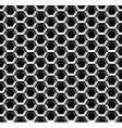 Seamless metal lattice pattern vector