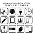 Communication icon part 4 vector