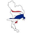 Crocodile thailand vector