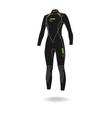 Neopren suit vector