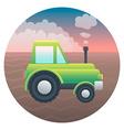 Tractor detailed vector