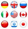 International flags vector