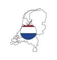 Dutch tomato vector