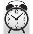 Alarm clock app icon vector