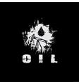 Oil industry grunge design template vector
