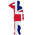 British salute vector