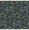 Seamless splattered fireworks pattern vector