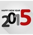 Happy new year 2015 vector