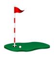 Golf theme vector