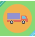 Delivery truck - icon vector
