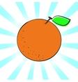 Orange a vector