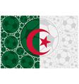 Algeria soccer balls vector