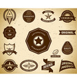 Vintage labels collection 11 vector