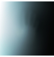 Hand behind mist glass vector