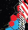 Grunge design background vector