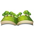 Popup book vector
