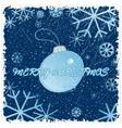 Congratulation card with christmas vector