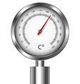 Temperature meter gauge vector