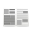 Daily newspaper vector
