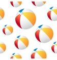 Beach ball background vector