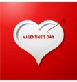 Valentines day card concept background vector