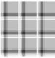 Seamless light tartan pattern fabric black and vector